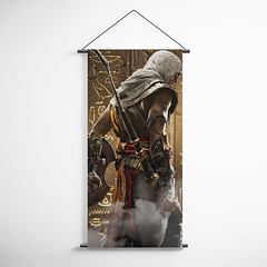 Assassin's Creed Origins 17  Decorative Banner Flag for Gamers (gamewallart) Tags: background banner billboard blank business concept concrete design empty gallery marketing mock mockup poster template up wall vertical canvas white blue hanging clear display media sign commercial publicity board advertising space message wood texture textured material wallpaper abstract grunge pattern nobody panel structure surface textur print row ad interior