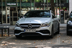 Poland (Nowy Sacz) - Mercedes-AMG CLA  45 C117 2017 (PrincepsLS) Tags: poland polish license plate germany berlin spotting kn nowy sacz mercedsamg cla 45 c117 2017
