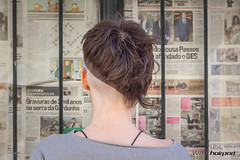 Haircut by Sílvia (wip-hairport) Tags: portugal lisboa lisbon wiphairport wip hairport salon hair stylist cut haircut hairdresser hairlove hairstyle style fashion inspire original creative alternative artist professional newlook shape personalized color haircolor longhair shorthair newhair newstyle hairoftheday