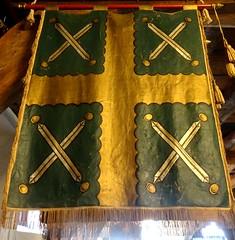 [73624] York : Merchant Adventurers' Hall - Curriers (Budby) Tags: york northyorkshire hall guild gild