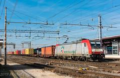 483 320 (atropo8 - fb.me/maniallospecchio) Tags: 483320 akiem mercitaliarail train treno zug merci freight cargo container genova verona veneto italy nikon