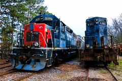 The Third Life (BravoDelta1999) Tags: greatwalton grwr railroad illinoiscentral ic railway southernpacific sp socialcircle georgia emd gp10 8302 gp40 3086 georgiarailroad garr ga