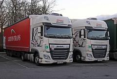 Jan 01 2019 beaconsfield PPW868-PPW854 (H) (jon L1049H) Tags: trucks daf lerton ppw868 ppw854 revesz