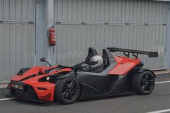 KTM X-BOW (D. Panny) Tags: ktm xbow tracktoy timeattack race racing jarama street orange nikon d3200