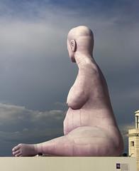 San Giorgio Maggiore island - Venice (JLM62380) Tags: palace basilique statue alison lapper pregnant sculpture venice venezia san giorgio maggiore island sport handicap