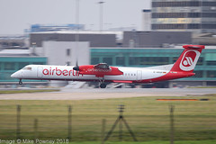 D-ABQR  - 2008 build Bombardier Dash 8-402, operated for Eurowings but still in Air Berlin colours (egcc) Tags: 4538 airberlin bombardier dabqr dh8d dhc dash8 dash8402 dehavillandcanada egcc ew ewg eurowings lgw lightroom luftfahrtgesellschaftwalter man manchester ringway