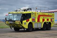 Norwich Airport - AU08GXH - Fire1 (matthewleggott) Tags: norwich airport fire engine appliance crt au08gxh 1 carmichael cobra 2 admac