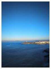 City (Santiago Sánchez López) Tags: azul mar alto ciudad coruña galicia agua monte mirador cielo