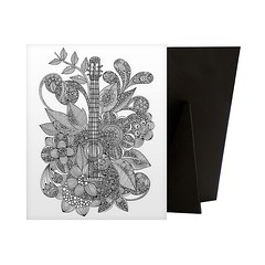 Guitar - Relieve stress while creating art for your walls with a Coloring Canvas. Each piece is printed on high quality canvas and then mounted to a sturdy solid frame to ensure a comfortable surface for coloring.  Check out our website: https://spaceplug (spaceplug) Tags: love photooftheday art canvas shop marketplace spaceplug buy sell happy blackwhiteart nice guitar products canvasart coloringguitar coloring canvasdemand
