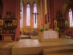 Frankfurter Dom St. Bartholomäus (PH0T0NAT0R) Tags: church churchinterior kirche light windows sacred indoor hdr dri tonemapping religion altar catholic katholisch stbartholomäus frankfurt frankfurtammain