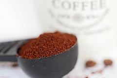 My coffee mate :-) (eleni m) Tags: coffee measurementspoon mug dof mate brown white grey spoon