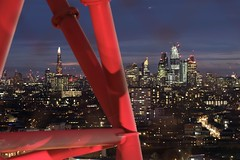 London city skyline; Shard at night (Lux Aeterna - Eternal Light) Tags: