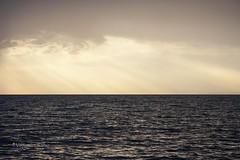 Tra cielo e mare. (Vittorio Raho) Tags: sea seascape naturephotography nature photography canon canonphotography flickr colors beautiful sun sunset reflectionslovers