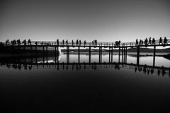 and yet one is all alone (Hendrik Lohmann) Tags: streetphotography street people portugal lisboa lissabon lisbon blackandwhite bnw bw bwstreet nikon nikondf nikonphotographer monochrome