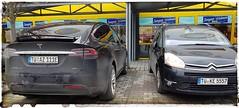 Flagships Tesla X SUV Large 100D & Citroen Grand C4 SpaceTourer (eagle1effi) Tags: picasso grand c4 20 hdi millenium spacetourer gt 150 hp ps