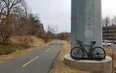 2019 Bike 180: Day 18 - Rail Trail (mcfeelion) Tags: cycling bike bicycle bike180 2019bike180 wod restonva
