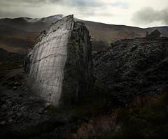 Dinorwic Leviathan. (PentlandPirate of the North) Tags: dinorwic slate quarry snowdonia northwales shipwreck titanic rock dinorwig gwynedd