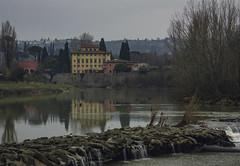 un sabato di febbraio (Emanuele.N) Tags: firenze arno riflessi inverno febbraio fiume natura nikon