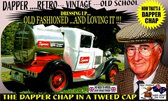 Dapper Chap In A Tweed Cap 2019  Part  1 (Save The Last Ocean) Tags: vintagecarclub vintagecar oldschool retro man fashion poster sign outdoor distinguished gentlemans cap tweed wearing car nz kiwi older oldman granpa classic auto vehicles cavalrytwilltrousers rally show club menswear scottish houndstooth uk british woven yorkshire 2019 nokia headlight art blazer plaid auckland hamilton rotorua tauranga gisbourne napier hastings wellington nelson christchurch dunedin invercargill city tweedcap tweedjacket citycouncil newplymouth whanganui wanganui rockandhop parked road street tweedjacketphotos truck ford sedan saloon manwearingtweedjacket menstweedjacket ride run dapper