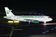 D-ASTA Germania Airbus A319-112 (buchroeder.paul) Tags: eddl dus dusseldorf international airport germany europe ground night dasta germania airbus a319112