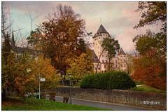 Castillo de Colmar-Berg (mariadoloresacero) Tags: luxembourg luxemburg luxemburgo castle castillo colmarberg château