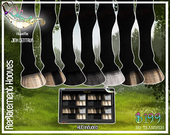 Hoof Replacement - Jinx Centaur (Sodap0pp) Tags: jinx centaur second life secondlife fantasy animal horse equine roleplay hoof hooves avatar