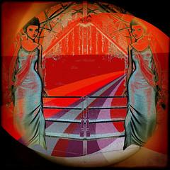 They are waiting for us. (SØS: Thank you for all faves + visits) Tags: digitalartwork art kunstnerisk manipulation solveigøsterøschrøder artistic fantasy girls party road photomanipulation mirror 100views