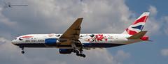 British Airways Boeing 777 (Thomas Wraight) Tags: aviation aircraft flight jet airliner passengerairliner photography canon canon7dii heathrow heathowairport londonheathrow egll london greaterlondon england greatbritian unitedkingdom europe britishairways ba 777 boeing777widebody boeing b777200