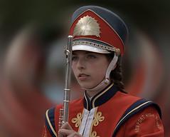 High School  Band Flautist (Scott 97006) Tags: uniform female girl highschool flute cute marching sparade