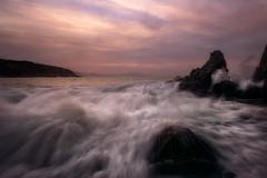 Azkorri (Patxi Pérez) Tags: luz largaexposicion exposicion composicion elementosdecomposicion rocas linea lineas mar cantabrico bizkaia getxo azkorri amanecer atardecer cielo paisaje paisajemarino