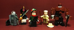 Fatso's Circus Freaks (Lord Allo) Tags: lego league of extraordinary gentlemen hawley griffin invisible man captain nemo mina harker murray allan quatermain mister edward hyde doctor henry jekyll