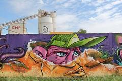 . (just.Luc) Tags: graffiti grafitti streetart urbanart france frankrijk frankreich francia frança bordeaux gironde nouvelleaquitaine face gezicht visage gesicht wall muur mur mauer