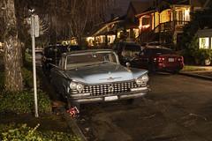 1959 Buick (Curtis Gregory Perry) Tags: portland oregon 1959 59 buick lesabre old classic car auto automobile night longexposure nikon d810 automóvil coche carro vehículo مركبة veículo fahrzeug automobil