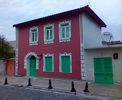 Milas is known for its colorful houses. (bryandkeith) Tags: turkey milas