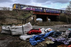A load o' rubbish (Andrew Shenton) Tags: 144020 stourton leeds rubbish tipping junk cokeoven