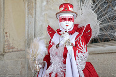 Portrait from Carnevale di Venezia 2019 (Gordon.A) Tags: italy italia venice venezia veneto carnevale carnival venicecarnival carnevaledivenezia carnavaldevenecia carnavaldevenise karnevalinvenedig 2019 venetian veneziano creative costume hat mask maschere masque design festival event eventphotography culture subculture lifestyle people lady woman model pose posed posing outdoor outdoors outside wall naturallight colour colours color amateur street portrait portraitphotography digital canon eos 750d