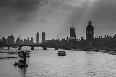 London (romanboed) Tags: leica m 240 europe uk gb united kingdom great britain england london spring travel parliament river thames bridge westminster cityscape skyline riverbank monochrome black white bw summilux 50 ngc