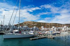 Marina Agadir (KPPG) Tags: landscape landschaft marokko morocco agadir boats boote sky himmel berge hills africa afrika