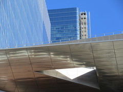 Neiman Marcus across from The Vessel Sculpture 4149 (Brechtbug) Tags: 2019 neiman marcus across from the vessel sculpture hudson yards tower near 34th street midtown manhattan new york city nyc 03172019 west side construction center cityscape architecture urban landscape scape view cityview shadow silhouette december close up skyline skyscraper railroad rail yard train amtrak tracks below grown stair stairs buildings above staircase dingus nypd mini squad cars tiny neimanmarcus department store