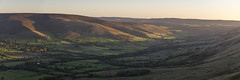 Vale of Edale (Keartona) Tags: rushup edge edale valley vale panoramic panorama landscape scenery autumn dawn morning sunrise beautiful view peakdistrict derbyshire england english kinderscout hills walk october