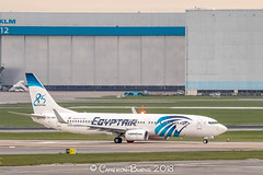 "Egyptair SU-GEH B737-800 (IMG_2237) (Cameron Burns) Tags: egyptair ms sugeh boeing boeing737 boeing737800 boeing738 b737 b737800 b738 cai cairo egypt africa african white blue strobe amsterdam schiphol airport amsterdamschipholairport ""amsterdam schiphol"" ams eham airfield aviation aerospace airliner aeroplane aircraft airplane plane canoneos80d canoneos eos80d canon80d canon eos 80d netherlands holland dutch haarlemmermeer ""luchthaven luchthaven europe action"