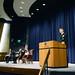 Adm. Davidson, commander, USINDOPACOM and JSDF chief of Joint staff address students