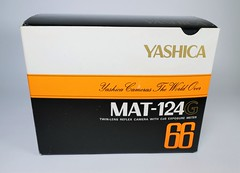 Yashica's Last TLR Box Design (http://www.yashicasailorboy.com) Tags: yashicamat 124g tlr yashica camera 6x6cm mediumformat japan box collections 1980s