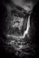 3.29.19 F (steveowen2725) Tags: yosemitenationalpark lower yosemite falls blackwhite