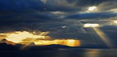 SWITZERLAND - Leman lake (Jacques Rollet (Little Available)) Tags: switzerland lemanlake suisse lac léman solarrays rayon rays sunset ciel sky cloud nuage leman groupenuagesetciel fabuleuse
