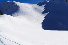 Самотният скиор (sevdelinkata) Tags: snow mountain rila bulgaria