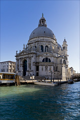 Basilica di Santa Maria della Salute . Basilica of Saint Mary of Health (atardecer2018) Tags: venice italy water winter city 2018 италия венеция