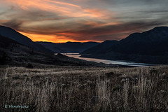 Nicola Lake Sunset (edhendricks27) Tags: