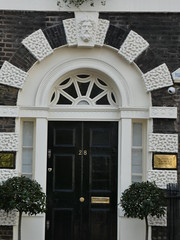 UK - London - Bloomsbury - Bedford Square - Door (JulesFoto) Tags: uk london england southbankramblers bloomsbury bedfordsquare door