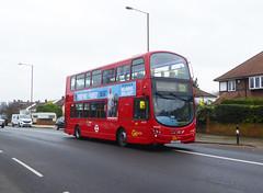 GAL WVL278 - LX59CYT - ELTHAM ROAD - SAT 16TH FEB 2019 (Bexleybus) Tags: goahead go ahead london eltham road se9 south east tfl route 321 wrightbus gemini volvo b9 wvl278 lx59cyt
